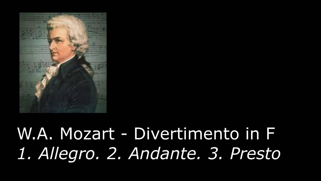 W.A. .Mozart